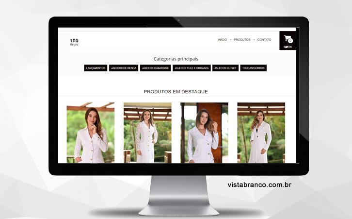 f7d813169 Loja Vista Branco - Media Virtual - Agência de Marketing Digital em ...