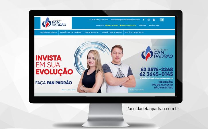 Portal Faculdade Fan Padrão