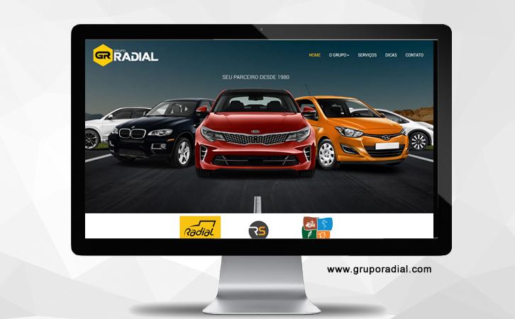 Site Grupo Radial